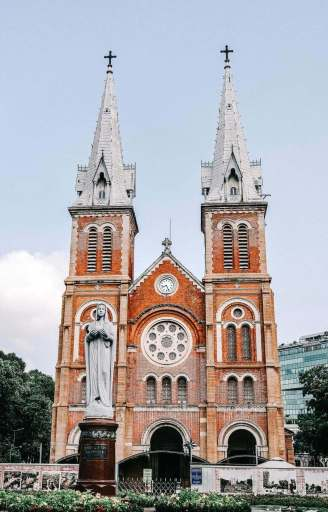 The Notre Dame Cathedral of Saigon