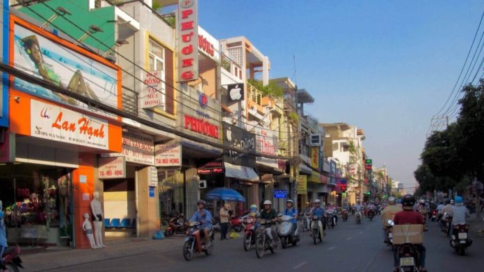 Pham Van Hai street, Tan Binh district, Ho Chi Minh City