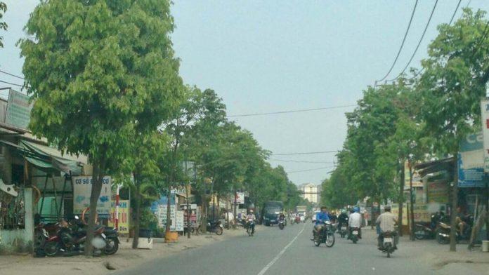 The area of Tan Tao, Binh Tan district, Ho Chi Minh City