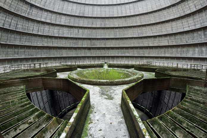An abandoned power plant IM at Charleroi, Belgium