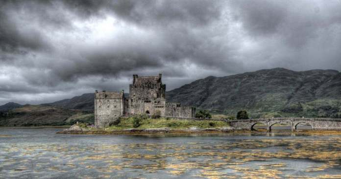 Eilean Donan Castle - one of the abandoned castles across the world
