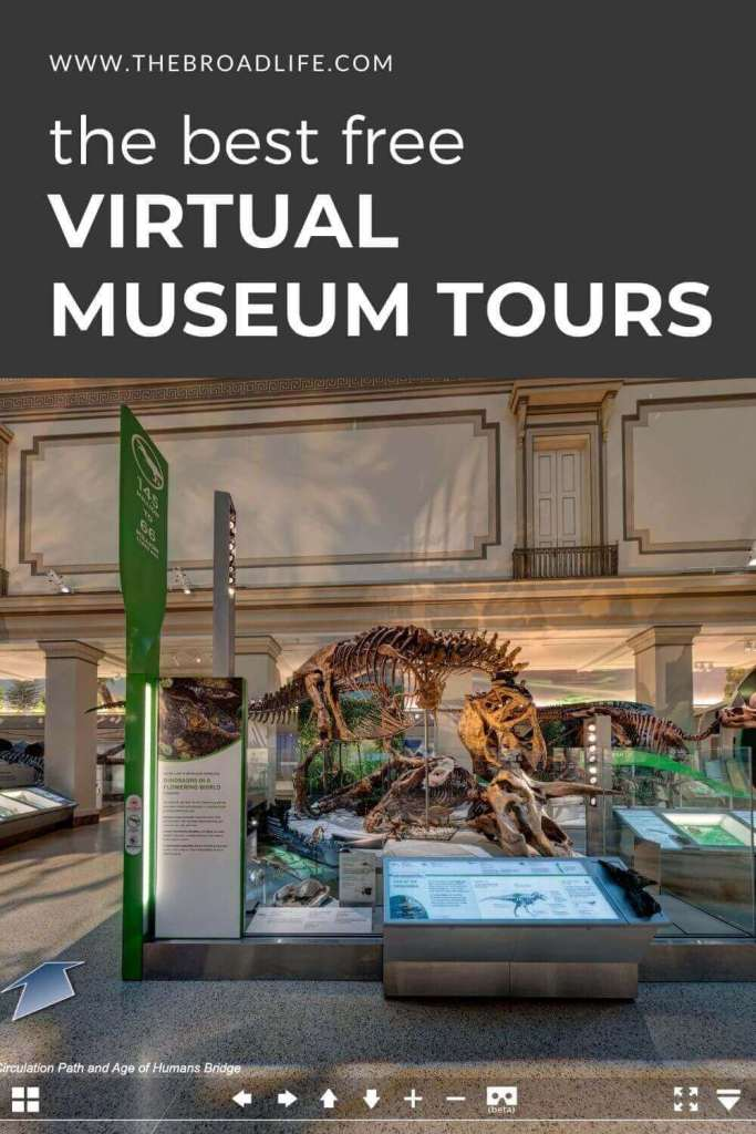 best free virtual museum tours - the broad life's pinterest board