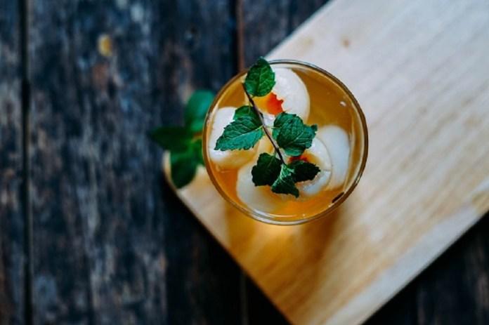 fresh lychee tea vietnam fruit