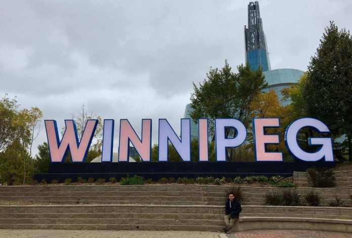 My travel from Toronto to Winnipeg