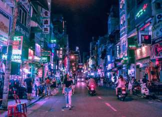 bui vien walking street - the top destination for ho chi minh city nightlife