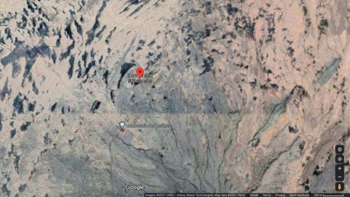 Mapimí's Silent Zone on Google Maps