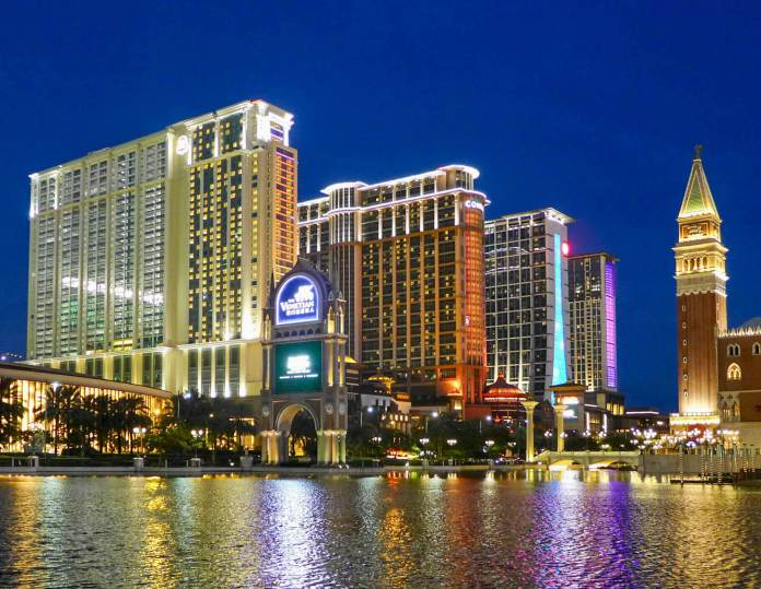 The Londoner Macao, a hotel and casino complex