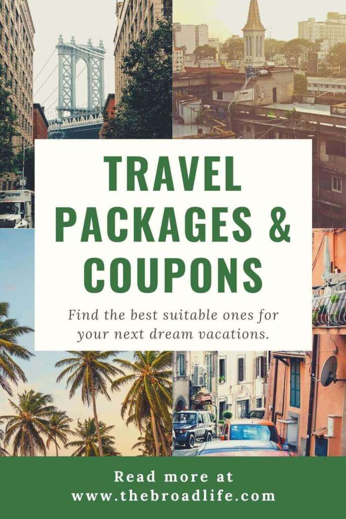 pinterest board of travel packages and coupons