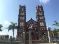 Dak An church near Bu Gia Map town