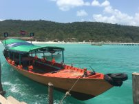 A kind of boat that took us to Koh Rong Samloem