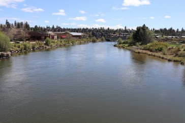 Deschutes River at the Old Mill in Bend, April 30 photo by Kayla Scott
