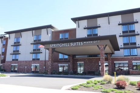 SpringHill Suites near Downtown Bend, April 30. Photo by Kayla Scott.