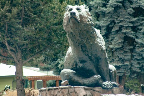 Sculpture: Grizzly by Sherry Sander / Photo by Roman Russell