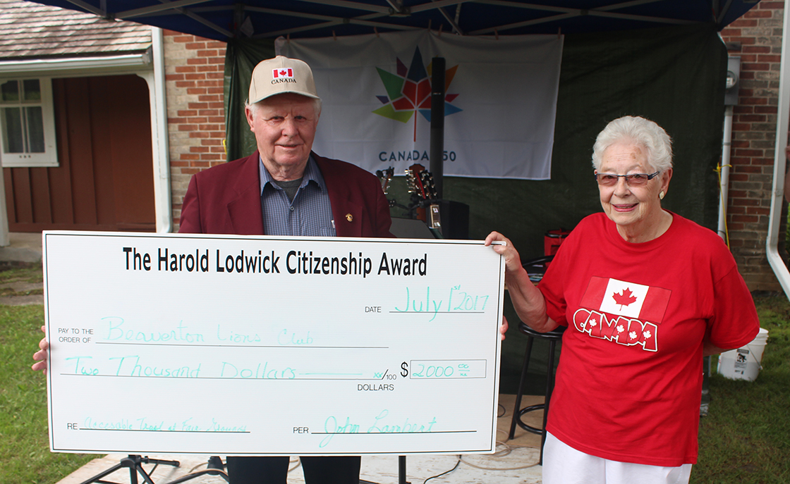 Nominations now open for Lodwick Citizenship Award