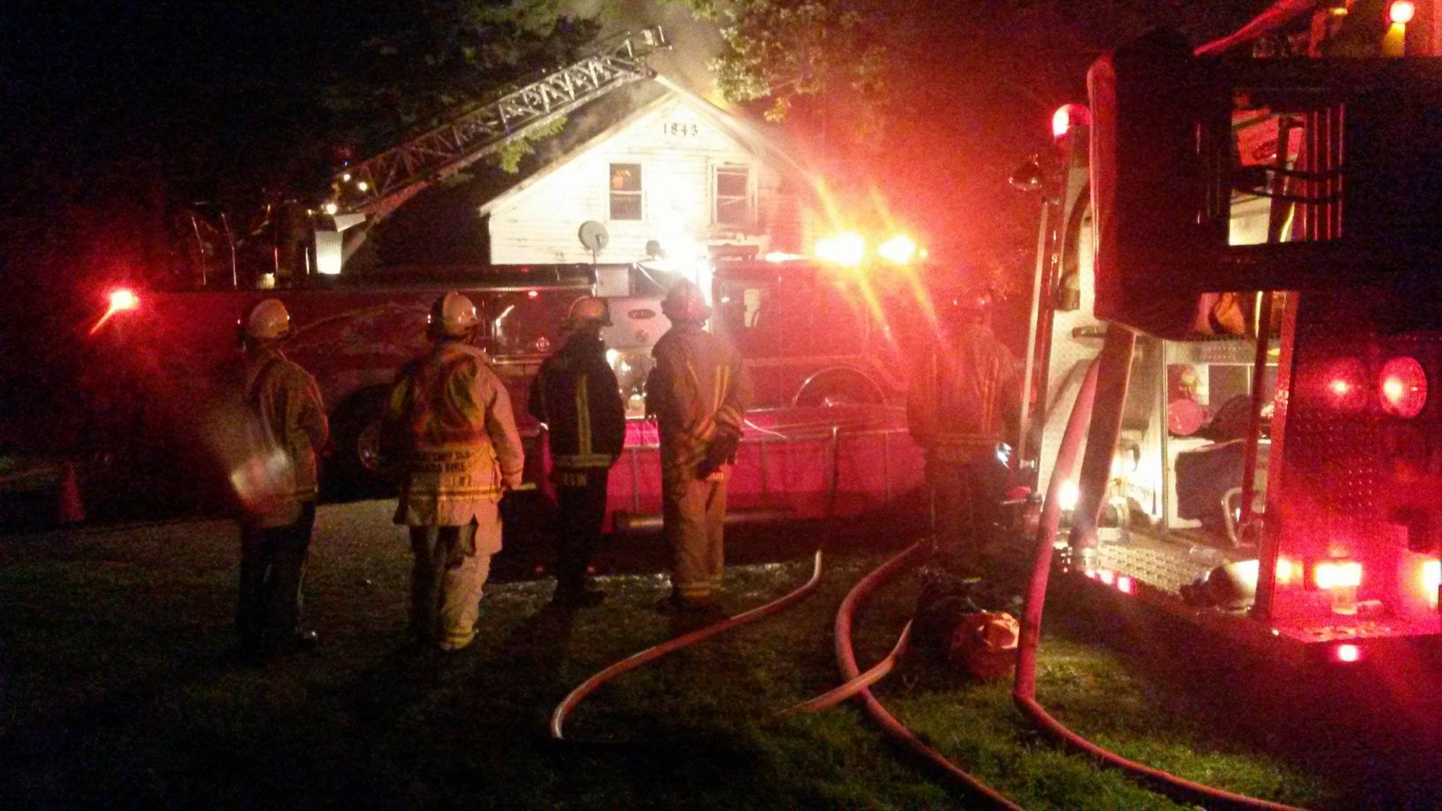 Beaverton area home gutted by fire
