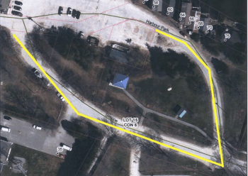 Map of Harbour Park Crescent