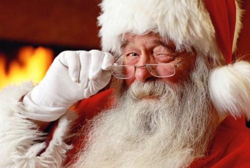 Santa Claus is on his way to Brock Township