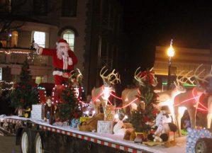 Santa in Beaverton