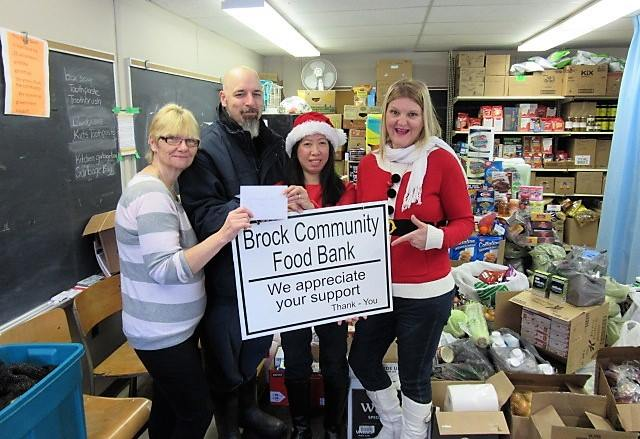 Social media campaign results in holiday bounty for food bank