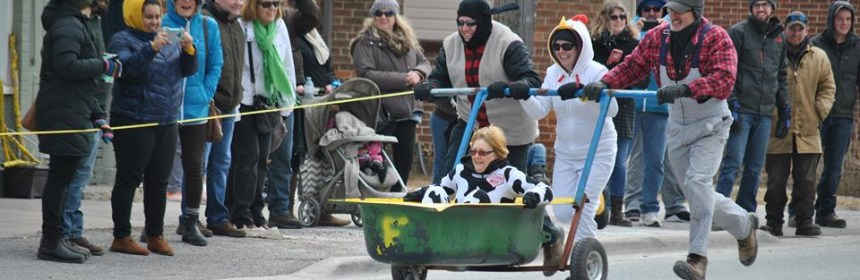 bathtub race at the Sunderland Maple Syrup Festival