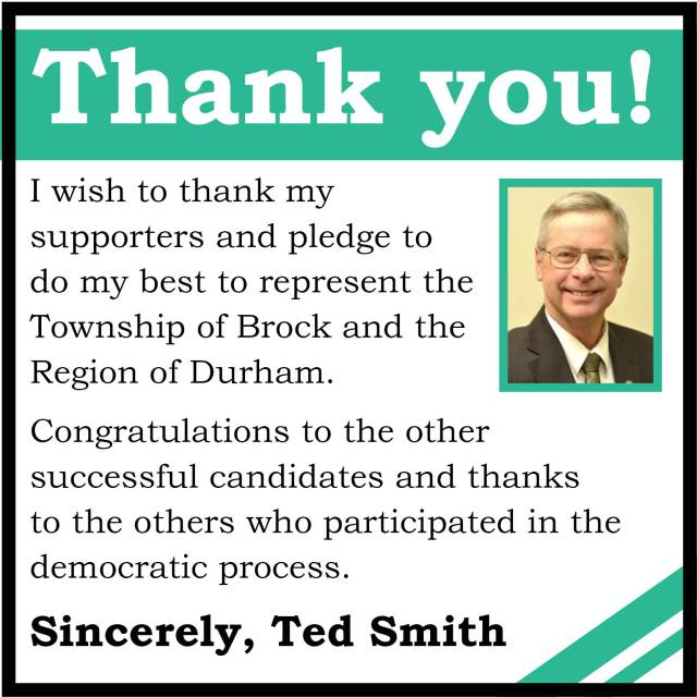 Ted Smith - Thank You