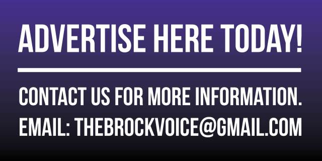 Advertise with the Brock Voice