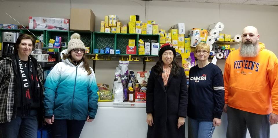 Online campaign raises more than $3,100 for Brock Community Food Bank