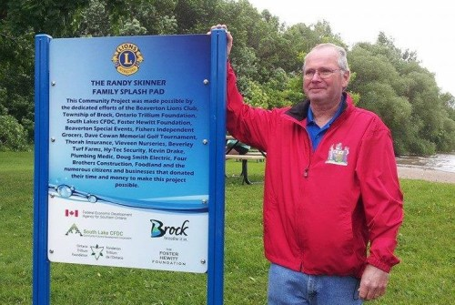 Township to reserve street name in honour of Randy Skinner