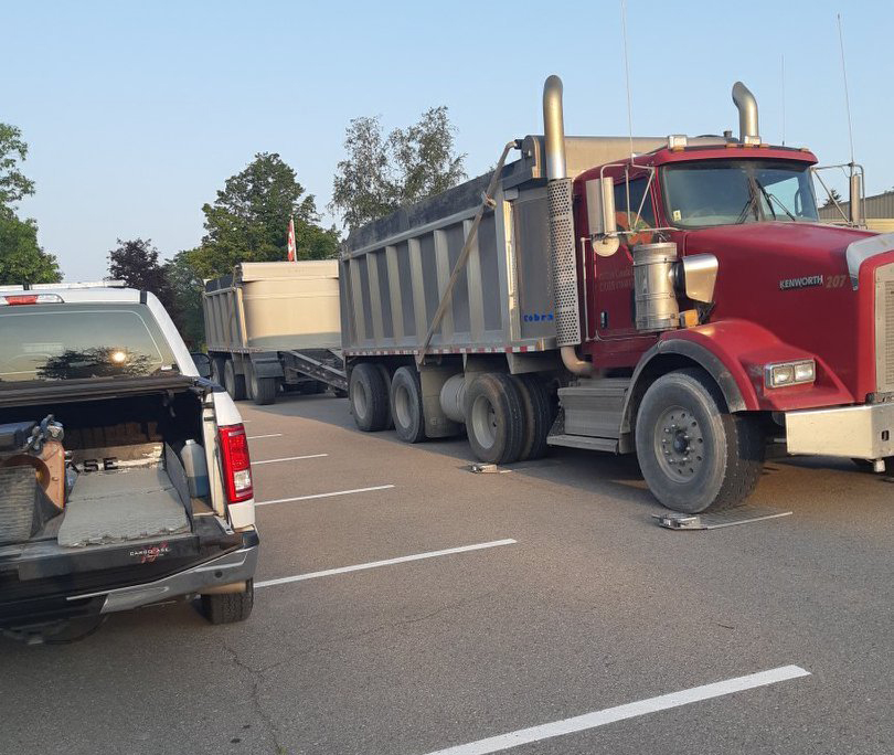 Nearly 80 tickets handed out during commercial vehicle safety blitz