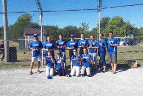 Cannington Peewee girls team wins tournament title