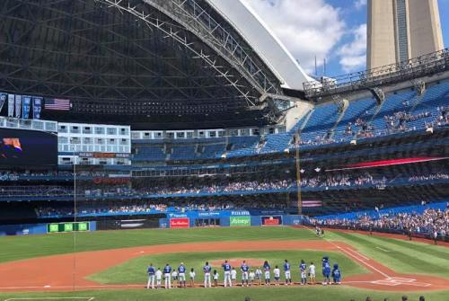 Area youngster hits the field with the Toronto Blue Jays