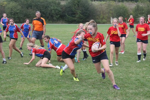 Brock High's junior girls rugby team starts season with two wins