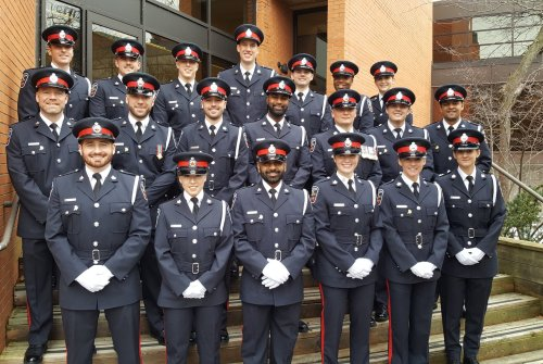 DRPS welcomes 20 new recruits
