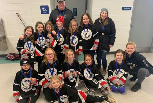 U9 Stingerz strike gold at Burlington tournament