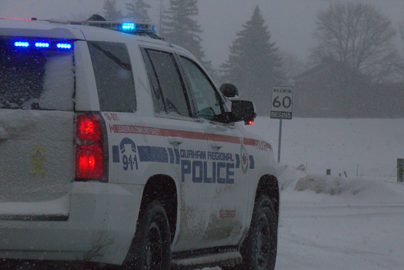 Police asking motorists to drive according to road and weather conditions