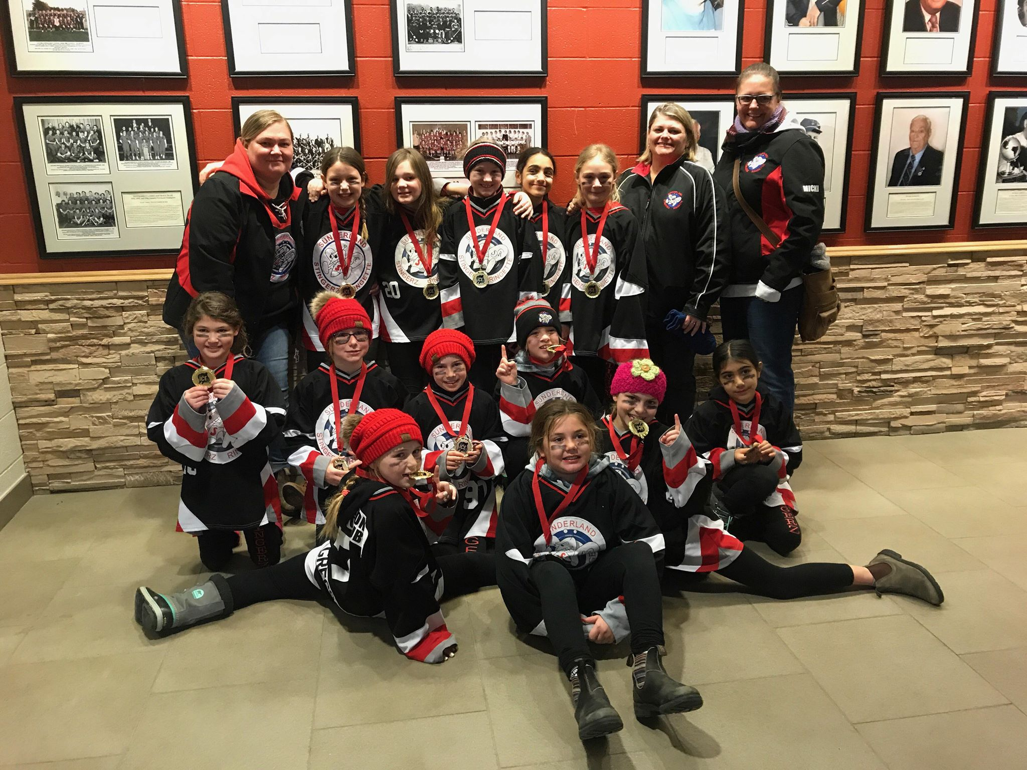 U10 Stingerz squad wins tournament title in Newmarket