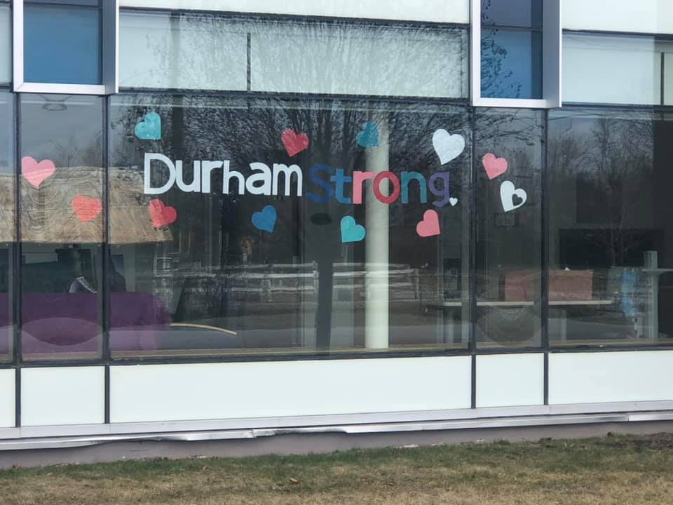 Staff at Lakeview Manor are #DurhamStrong