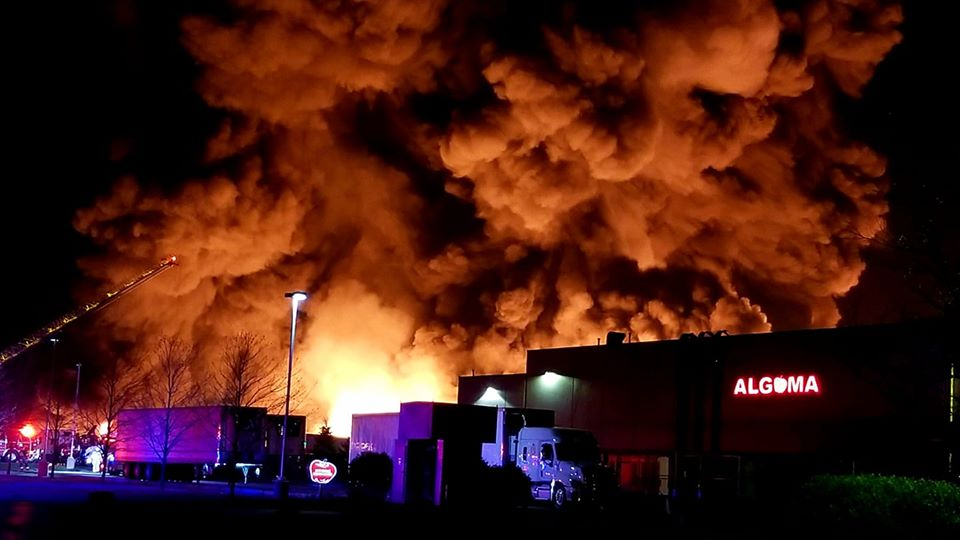 Fire at Algoma Orchards causes roughly $6 million worth of damage