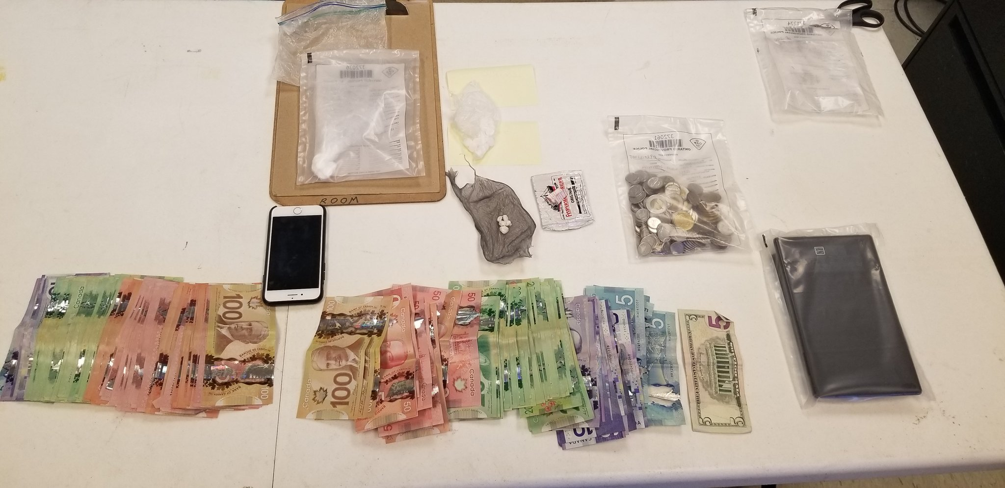 Two charged following investigation into drug trafficking in Orillia
