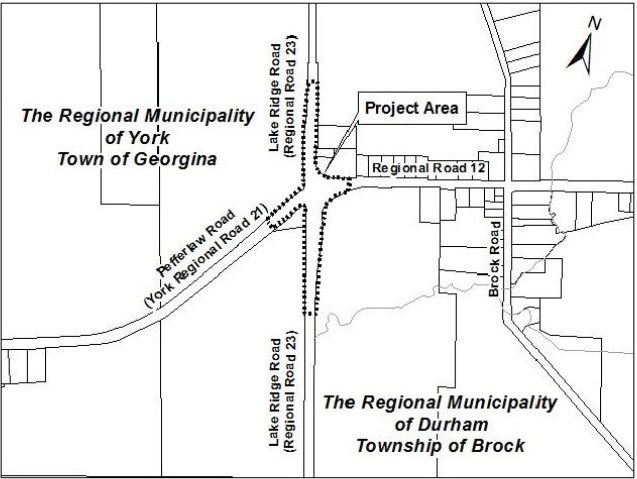 Region resumes work on roundabout near Wilfrid
