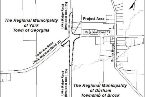 Region resumes work on roundabout near Wilfrid