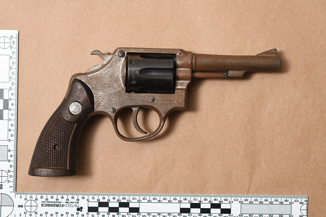 Handgun seized by police in Lindsay