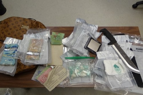 Cocaine and Fentanyl allegedly seized after police execute search warrant