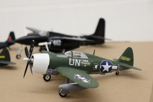 History buff donates 50 replica model planes to Brock High School