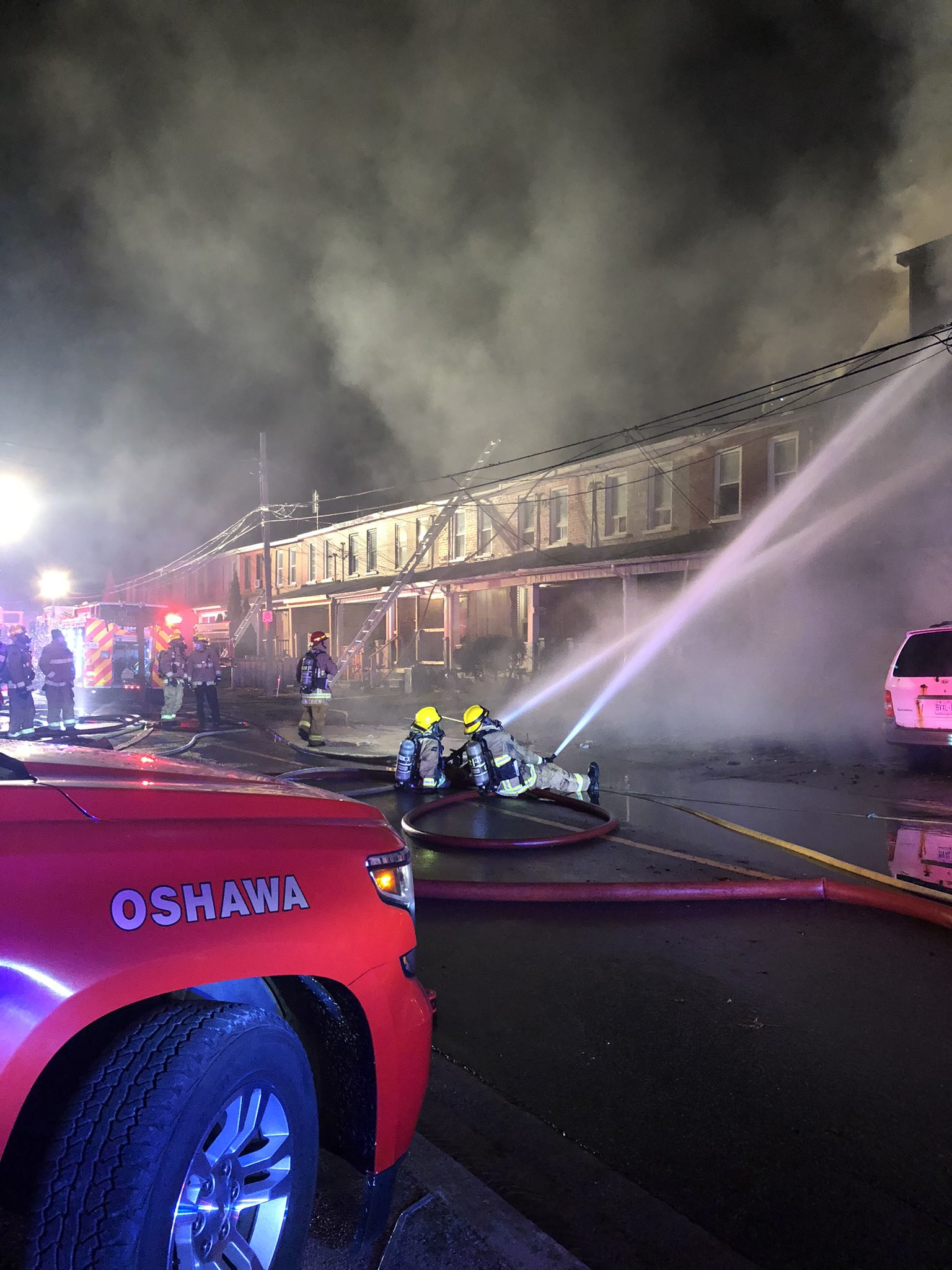 Two bodies recovered from Oshawa fire scene