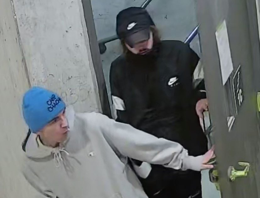 Suspects sought following theft of tools