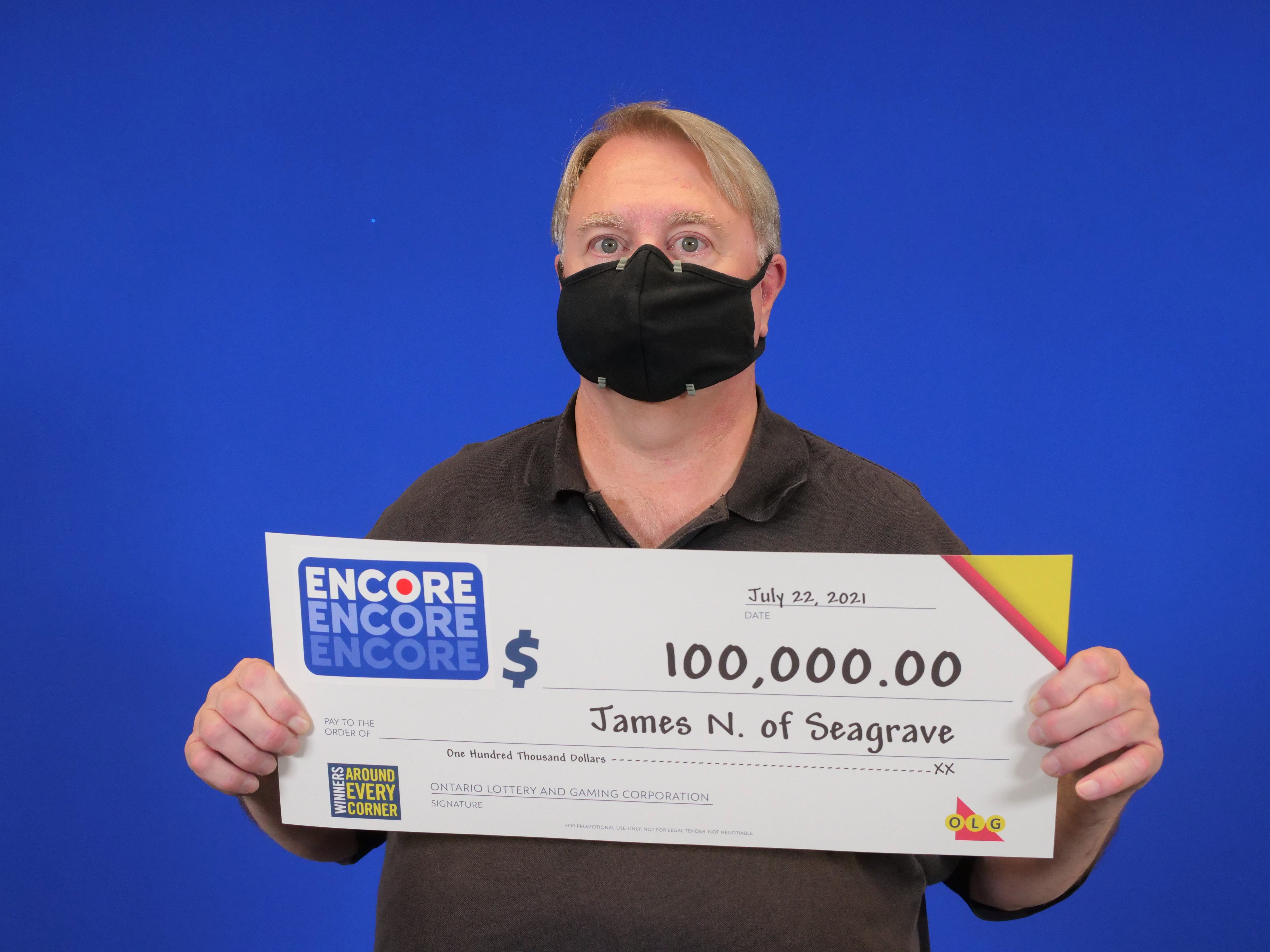 Seagrave resident wins $100,000 in lottery