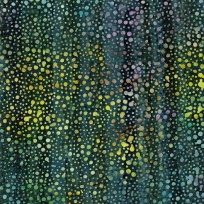 Sunset Blooms - Mini Dot - Dark Teal - 121933562