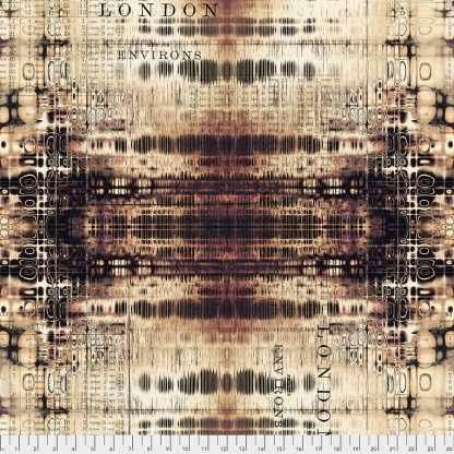 Abandonded by Tim Holtz - London Gridlock PWTH127.NEUTRAL
