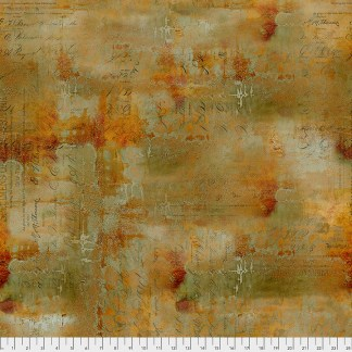 Abandonded by Tim Holtz - Writing Specimen- PWTH135.SIENNA